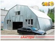 Ангар для подсобного помещения и ремонта техники. СТО